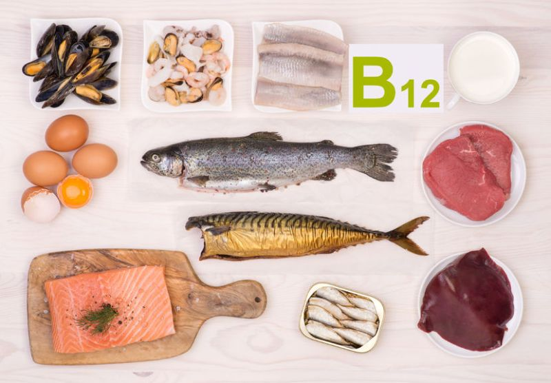 Aliment apportant de la vitamine b12